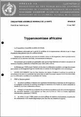 Trypanosomiase africaine