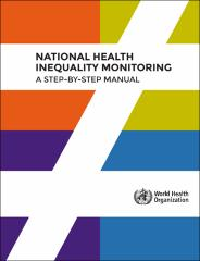 Handbook on health inequality monitoring with a special