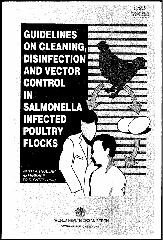 Guidelines on cleaning, disinfection and vector control in
