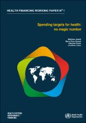 Spending targets for health: no magic number