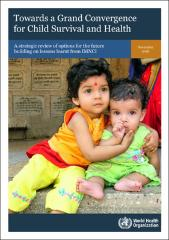 Towards a grand convergence for child survival and health: a strategic review of options for the future building on lessons learnt from IMNCI