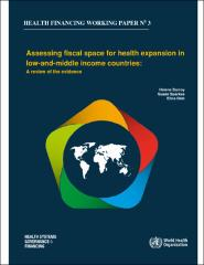Assessing fiscal space for health expansion in low- and middle-income countries: a review of the evidence