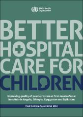 Better hospital care for children
