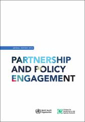 Annual report 2016: partnership and policy engagement