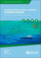Towards UHC: thinking public