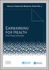 Earmarking for health