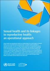 Sexual health and its linkages to reproductive health: an operational approach