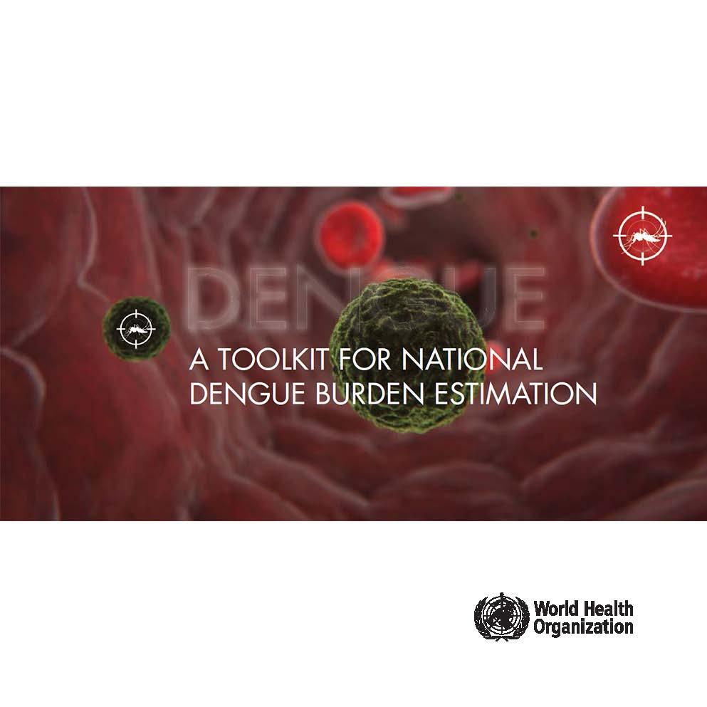 A Toolkit for national dengue burden estimation