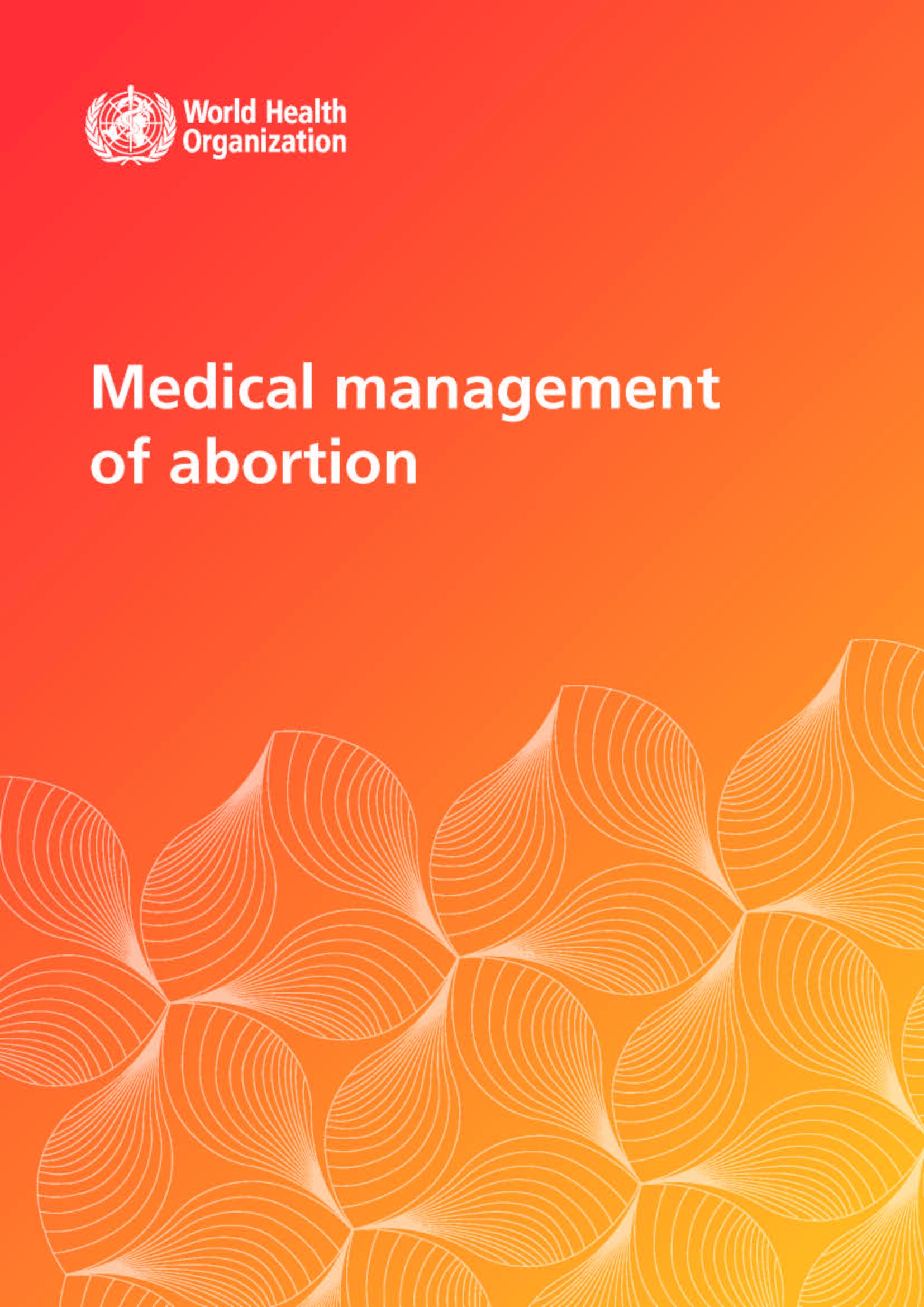 Medical management of abortion