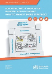 Purchasing health services for universal health coverage: how to make it more strategic?