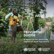 Preventing suicide: a resource for pesticide registrars and regulators