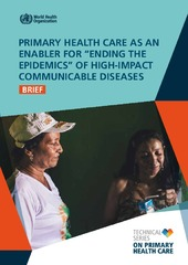 """Primary healthcare as an enabler for """"ending the epidemics"""" of high-impact communicable diseases"""