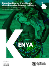 Opportunities for transition to clean household energy in Kenya
