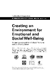 Creating an environment for emotional and social well-being: an important responsibility of a health promoting and child-friendly school