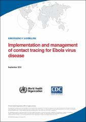 Implementation and management of contact tracing for Ebola virus disease