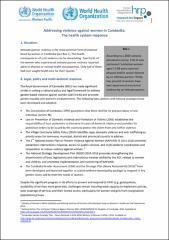 informe mundial sobre la violencia y la salud etienne g krug linda l dahlberg james a mercy