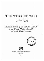 THE WORK OF WHO 1978-!979