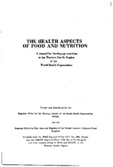 The Health Aspects Of Food And Nutrition