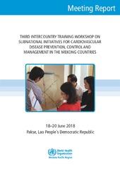 Third Intercountry Training Workshop on Cardiovascular