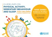 Guidelines On Physical Activity Sedentary Behaviour And Sleep For