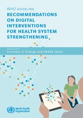 recommendations on digital interventions for health system