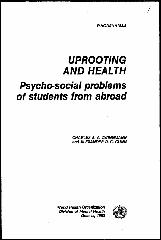 Uprooting and health : psychosocial problems of students