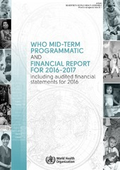 WHO mid-term programmatic and financial report for 2016–2017 including audited financial statements for 2016 (A70/40)