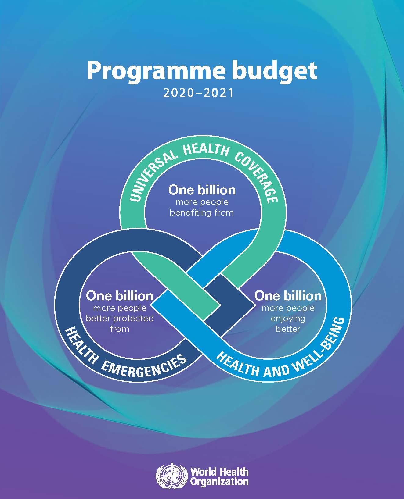 Programme budget 2020-2021