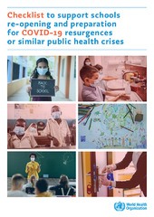 Checklist to support schools re-opening and preparation for COVID-19 resurgences or similar public health crises