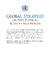 Global Strategy on Diet, Physical Activity and Health - 2004