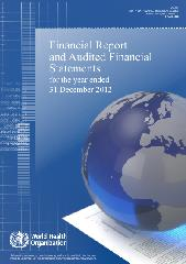 Financial report and audited financial statements for the year ended 31 December 2012