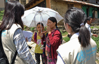 Disease surveillance after the earthquake in Nepal.
