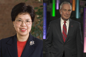 Dr Margaret Chan, WHO Director-General, and Michael R. Bloomberg, WHO Global Ambassador for Noncommunicable Diseases (NCDs)