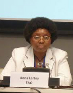 Anna Lartey, Director of Nutrition Division, FAO