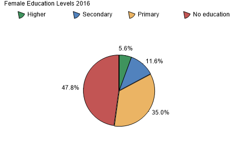 Female Education Levels 2011